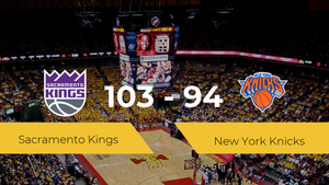 Sacramento Kings logra la victoria frente a New York Knicks por 103-94
