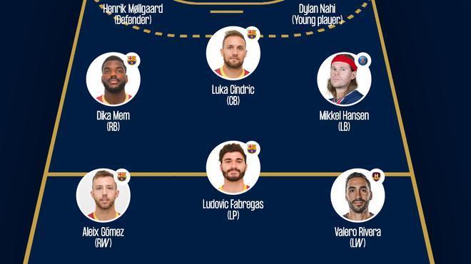 Cuatro azulgranas, en el equipo ideal de la Champions