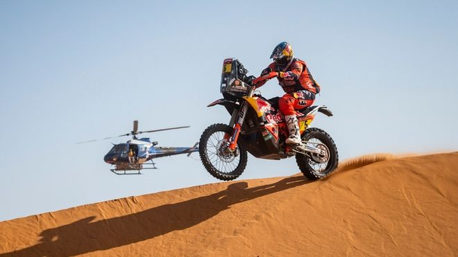 Sunderland, ganador de la undécima etapa del Dakar