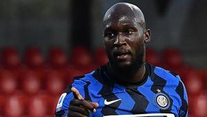 Romelu Lukaku, en plena forma con el Inter