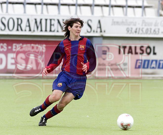 10.Leo Messi 2003-2004