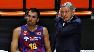 Pesic deja de ser el entrenador del FC Barcelona