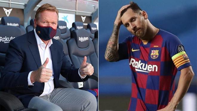 Así ha sido cumbre: Messi expresa sus dudas a Koeman (ES)