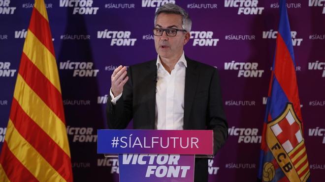 Víctor Font expone su punto de vista sobre las cifras económicas del Barça