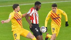 Lenglet se perderá el partido de este sábado ante el Granada