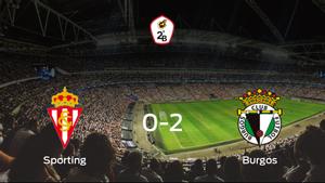 El Burgos se lleva los tres puntos frente al Sporting B (0-2)