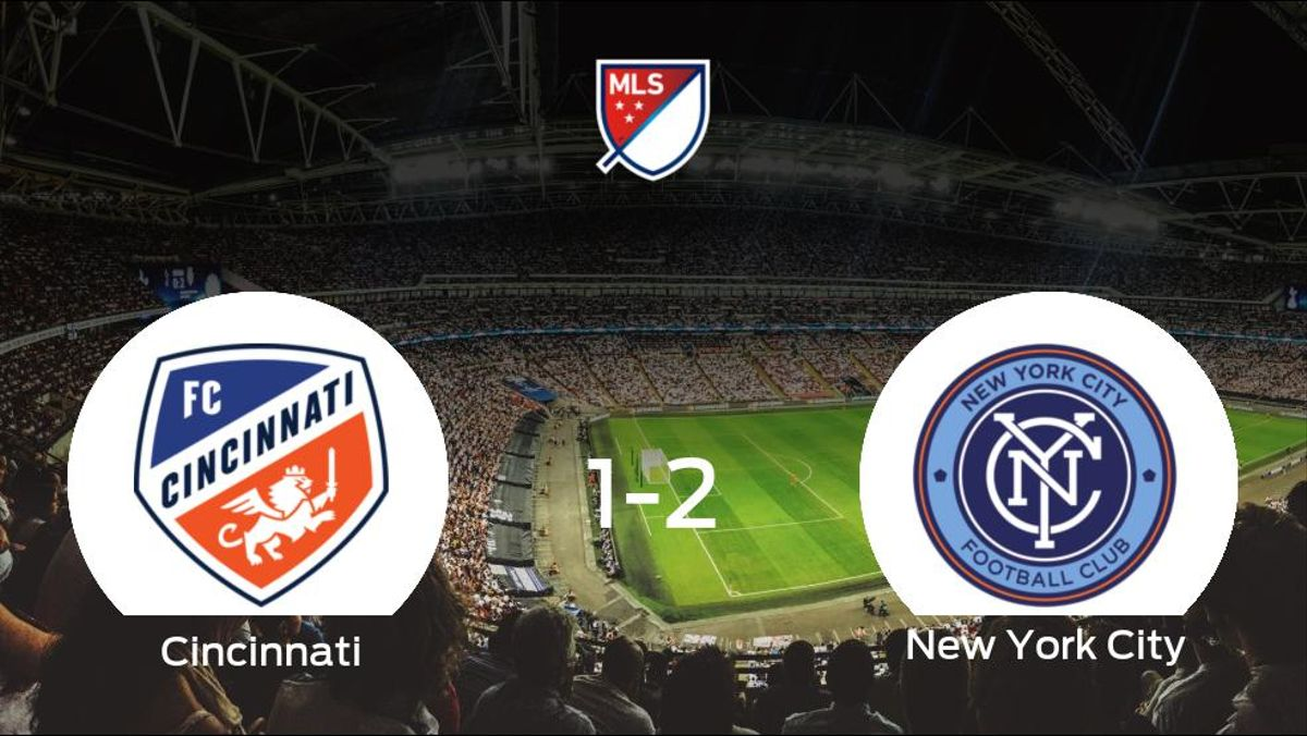El New York City vence 1-2 al Cincinnati y se lleva los tres puntos