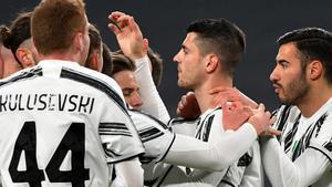 La Juventus superó a la SPAL para acceder a las semifinales de la Coppa Italia