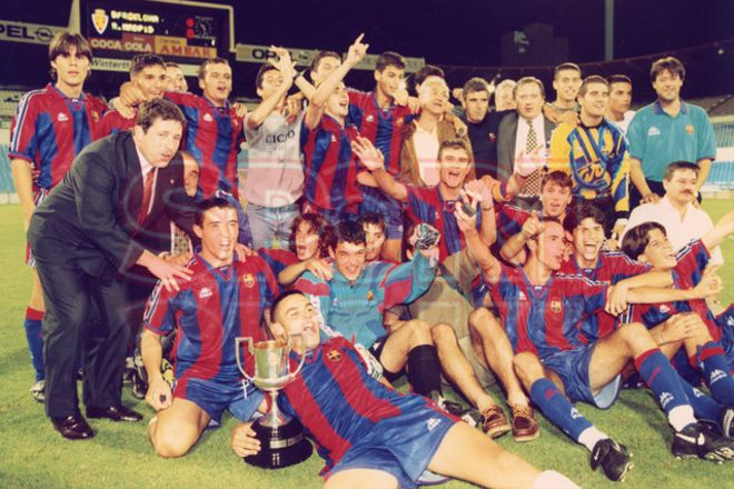 5.Carles Puyol 1996-97