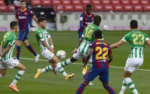 Los últimos dos enfrentamientos del Betis en LaLiga han sido derrotas por goleada