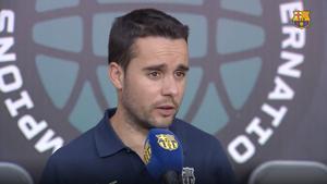 Jonatan Giráldez: La aspiración siempre es ganar todos los partidos que jugamos