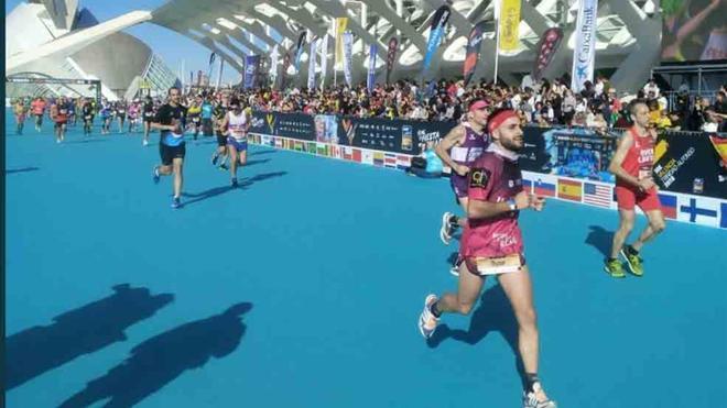 Martin Fiz fue uno de los participantes en la prueba de 10 Kilómetros en Valencia