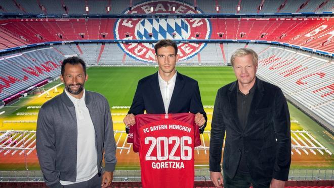 Goretzka seguirá en el Bayern