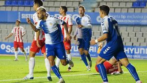A razón de su más reciente empate, el Sabadell está al margen de la zona de descenso