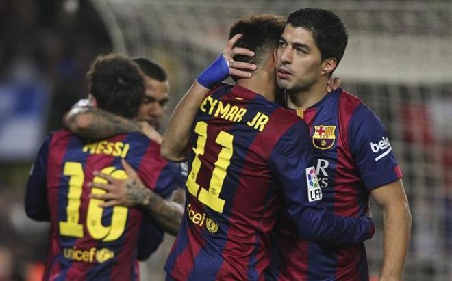 El FC Barcelona de Luis Enrique suma victoria tras victoria