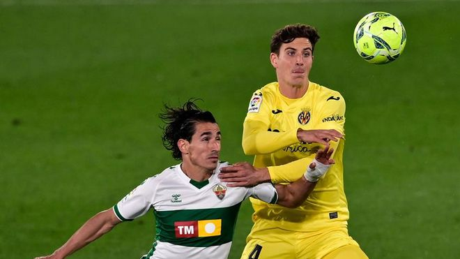 Pau Torres, central del Villarreal pretendido por el Real Madrid