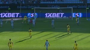 El gol maradoniano que firmó Pedraza ante el Celta