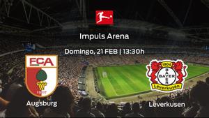 Previa del partido: FC Augsburg - Bayer Leverkusen