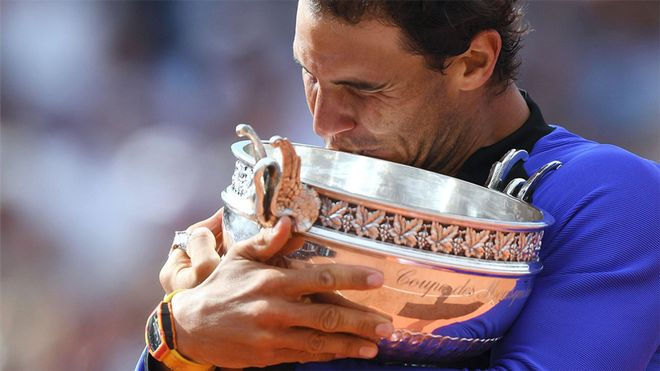 Rafa Nadal, ganador de Roland Garros (2017)