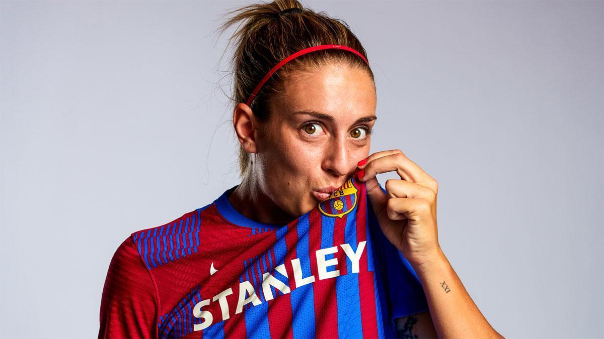 Alexia Putellas habla sobre el FC Barcelona