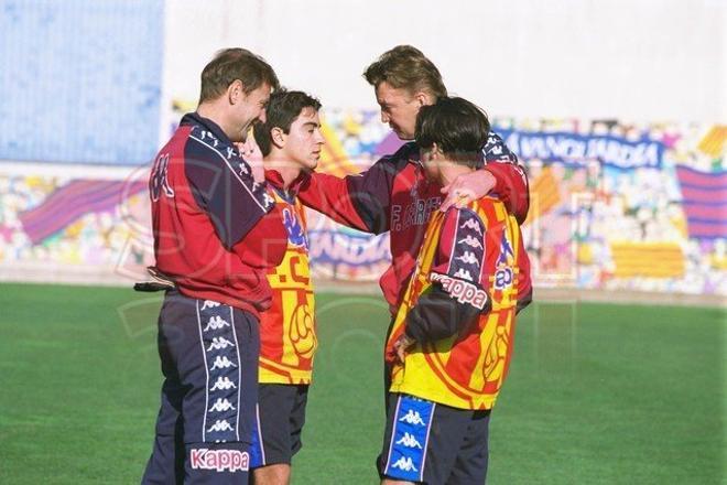 12.Xavi Hernández 1998