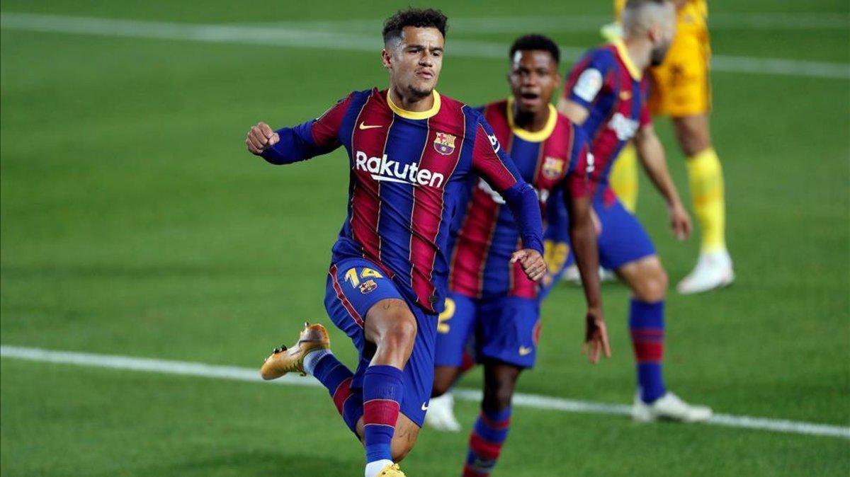 Philippe Coutinho espera mantener su nivel actual