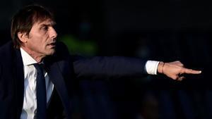 Imagen de Antonio Conte durante un partido