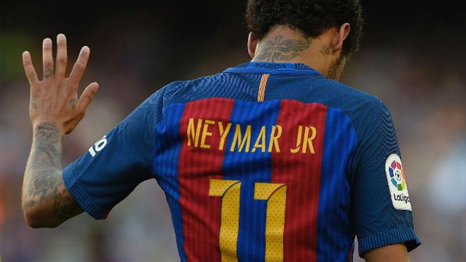 Neymar tiene en mente Barcelona