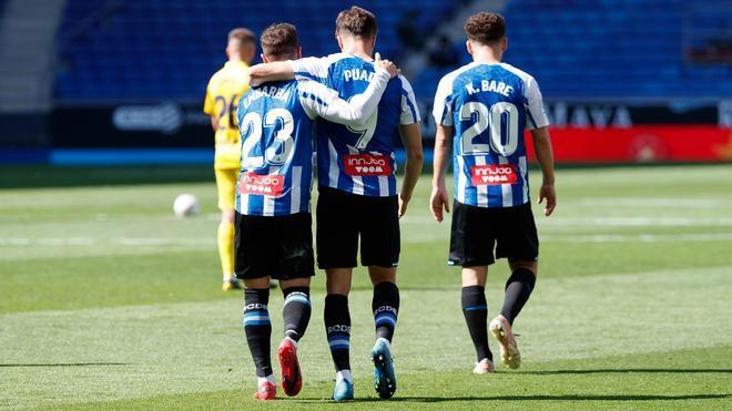 El Espanyol cumplió ante el Málaga sin apuros