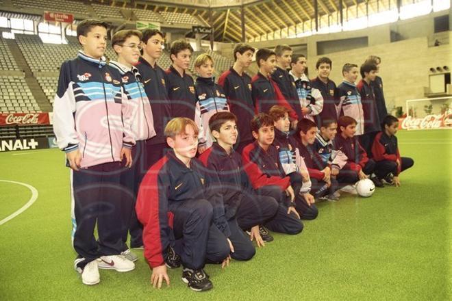 14. Gerard Piqué 1999-2000