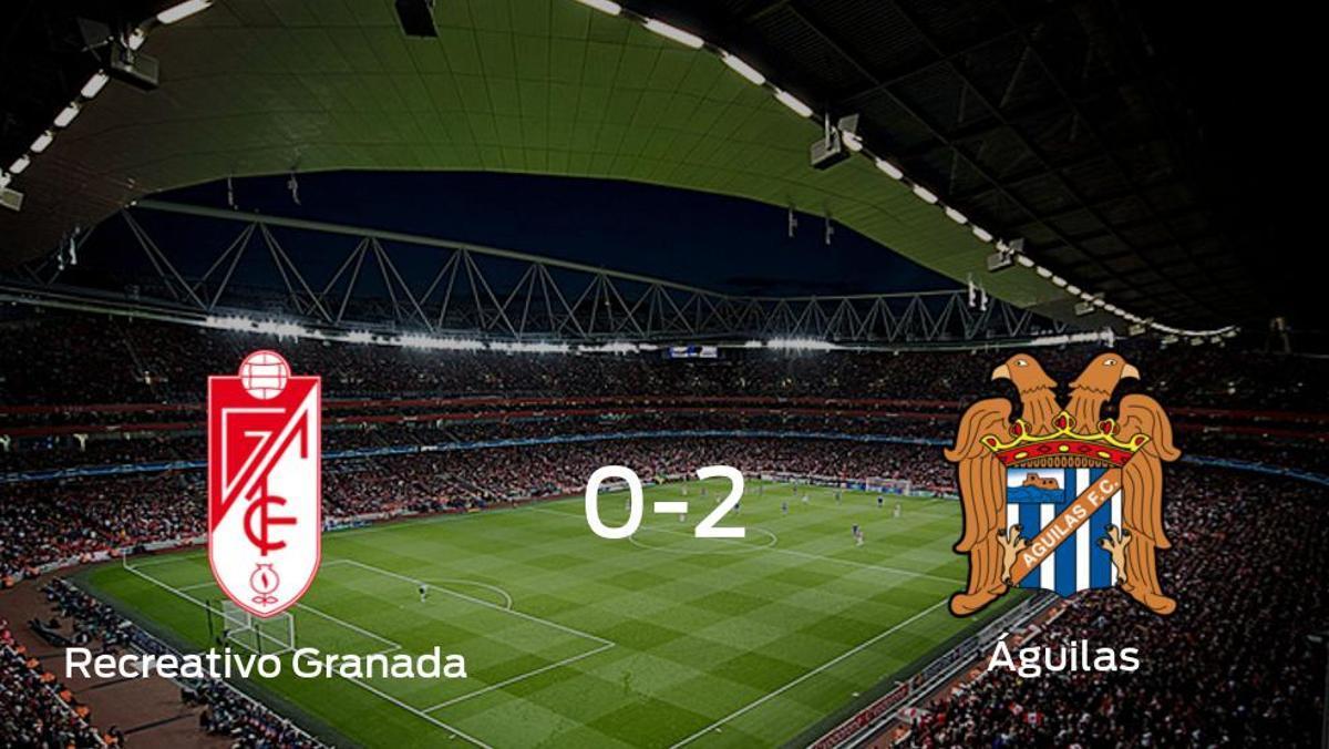 El Águilas deja sin sumar puntos al Recreativo Granada (0-2)