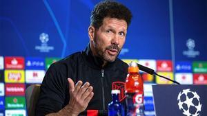 Simeone: Creo en mi equipo, mañana tenemos una gran oportunidad