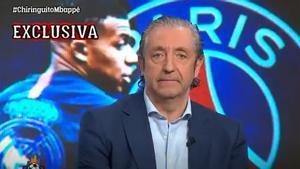 Pedrerol, insiste: Mbappé jugará en el Real Madrid la temporada que viene. Le apetece mucho