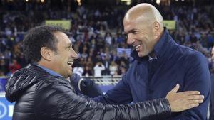 Zidane manda mucha fuerza a Eusebio y apoyo a su familia