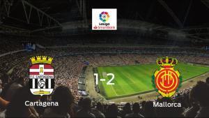 El Mallorca gana 1-2 al Cartagena y se lleva los tres puntos