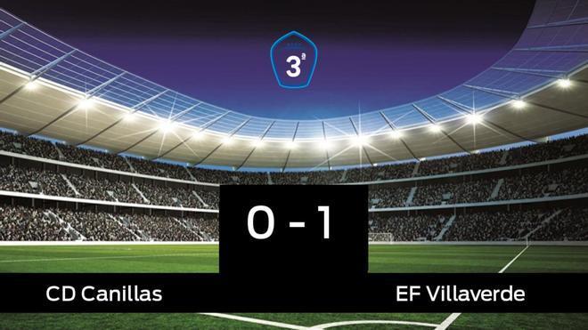 El Villaverde vence y se lleva los tres puntos