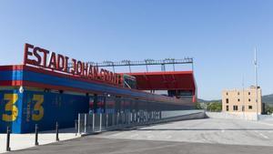 La masia Can Felip, en la Ciudad Deportiva Joan Gamper, rehabilitada por el Barça