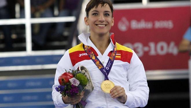 Gracias a su número de medallas, Sandra Sánchez figura en el Libro Guiness de récords mundiales