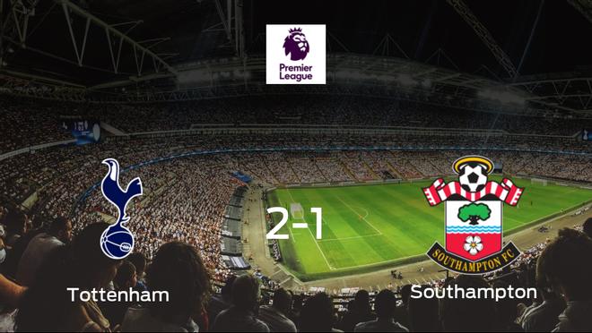 El Tottenham Hotspur gana 2-1 al Southampton y se lleva los tres puntos