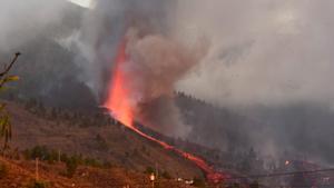El volcán de La Palma sigue en erupción