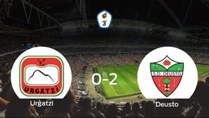 El Deusto se lleva la victoria tras derrotar 0-2 al Urgatzi KK
