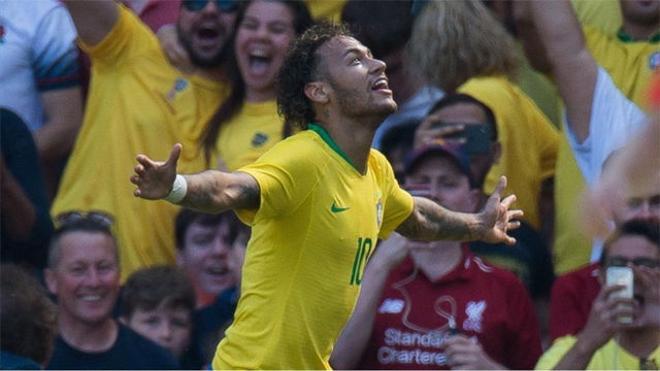 Neymar reapareció con un golazo ante Croacia
