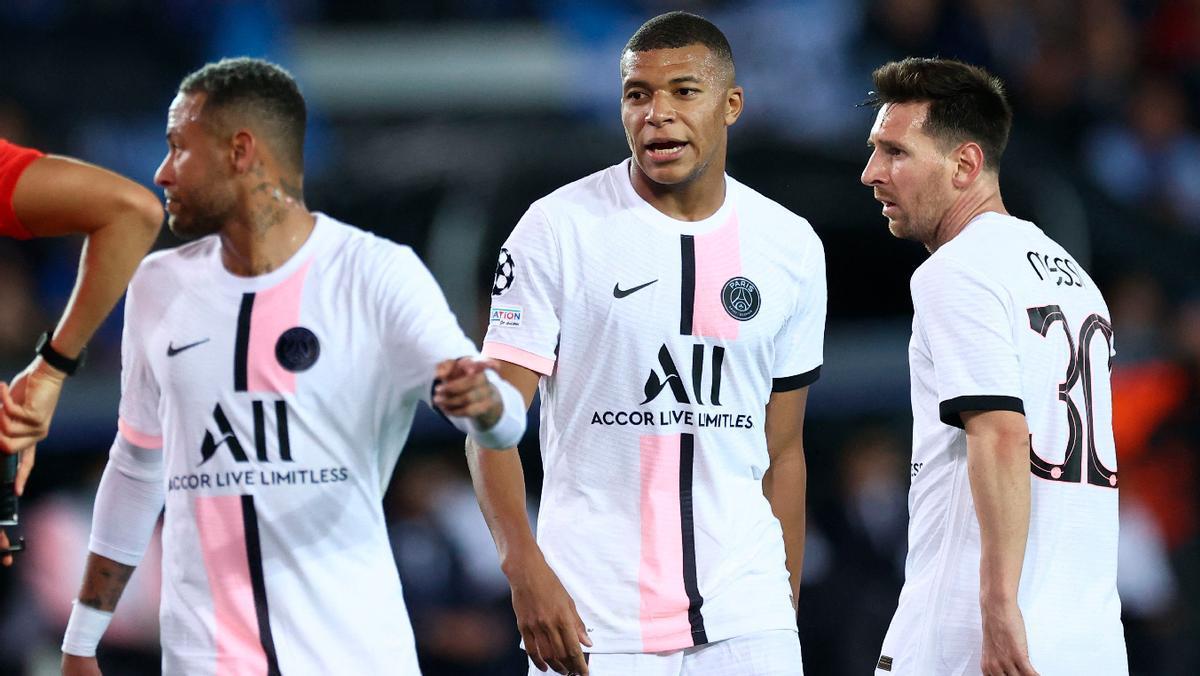 ¡Juntos por primera vez! Así fueron las primeras jugadas entre Messi, Neymar y Mbappé