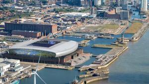 Así será el nuevo estadio del Everton.