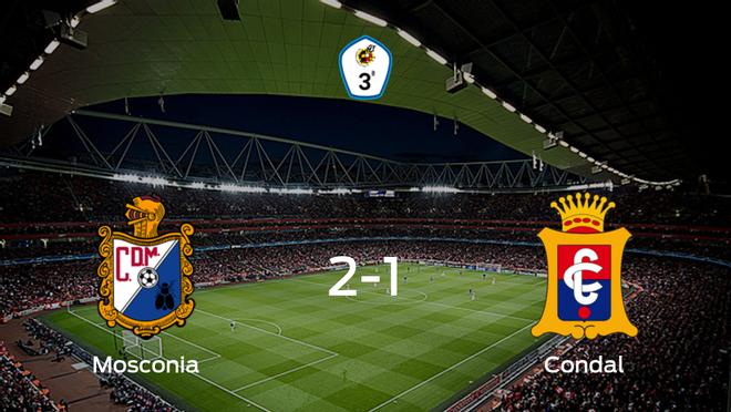 El Mosconiasuma tres puntos más frente al Condal (2-1)