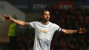 Ibrahimovic no disputará más partidos con el United de Mourinho