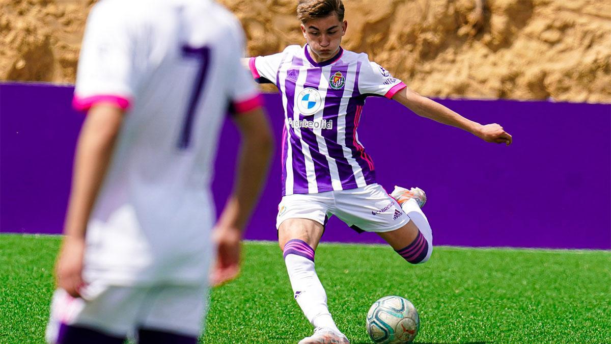Chuky no deja de crecer en el Juvenil A del Valladolid