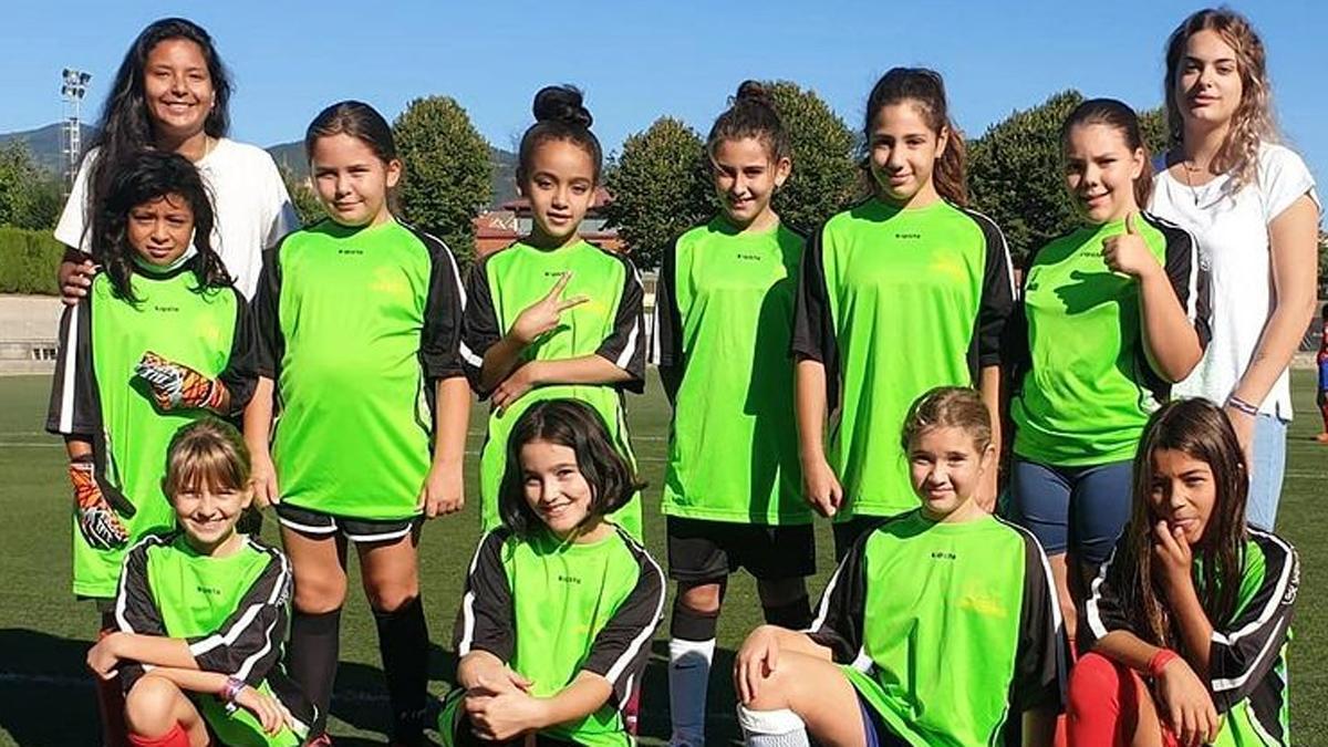 El equipo alevín femenino de la PB Gualba debuta esta temporada