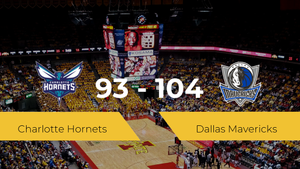 Dallas Mavericks logra la victoria frente a Charlotte Hornets por 93-104
