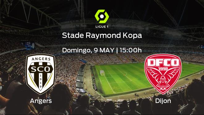 Jornada 36 de la Ligue 1: previa del duelo SCO Angers - Dijon FCO
